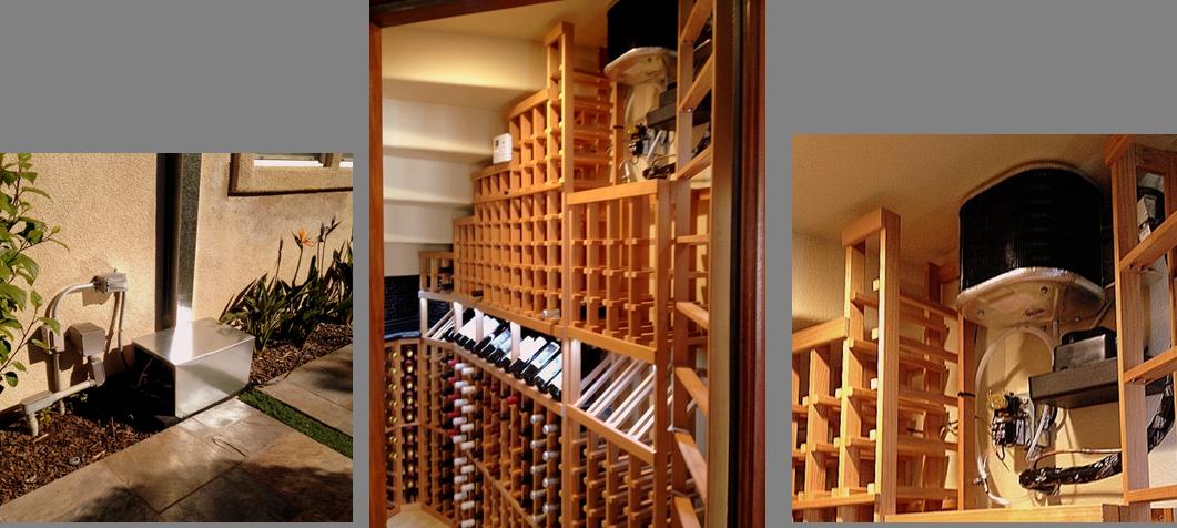 Pin by WineCellarsByCoastal Custom Wine Cellars on