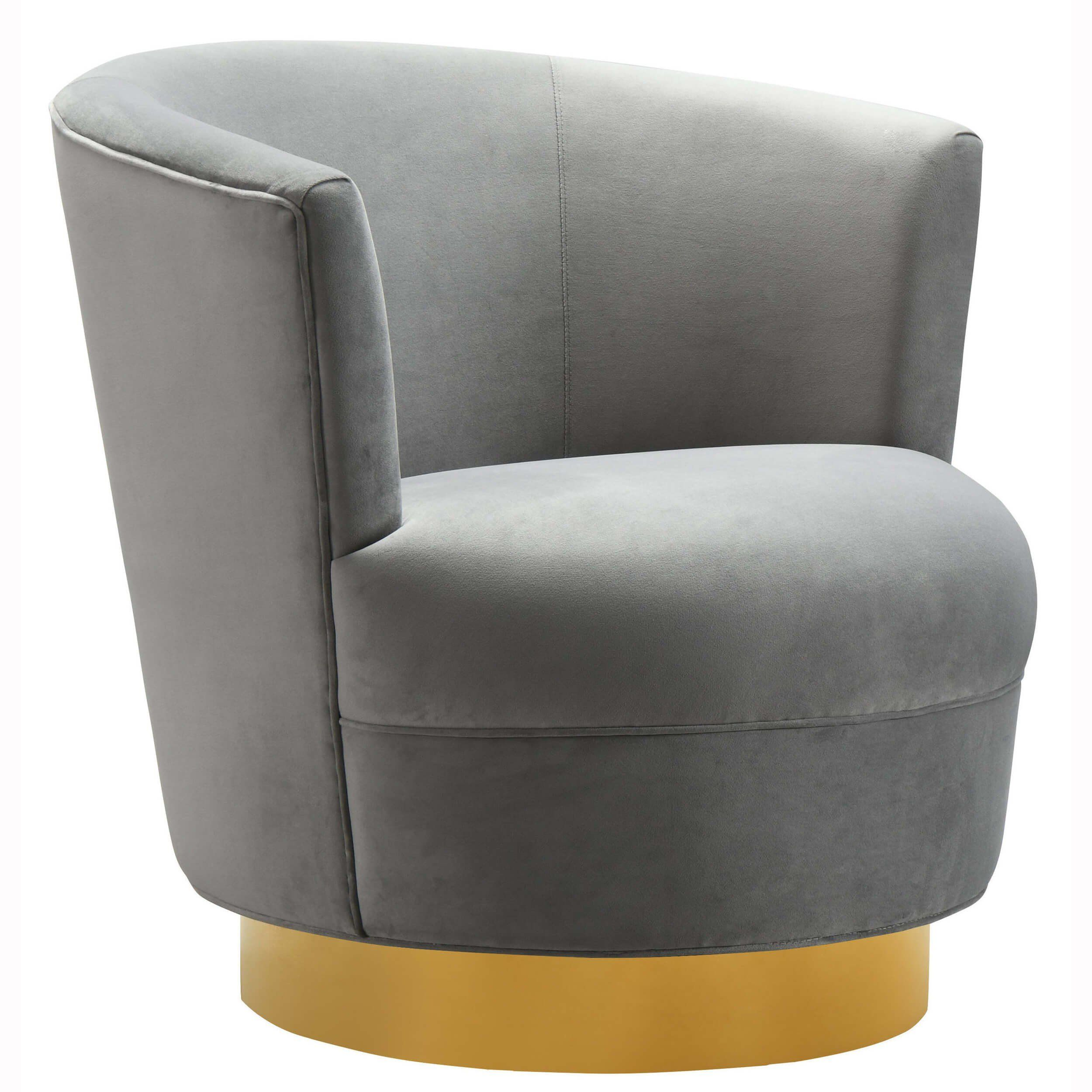 Swivel Tub Chair Norah Swivel Chair Grey In 2019 Furniture Swivel Barrel Chair