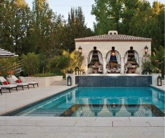 Bruce And @KrisJenner 's Backyard
