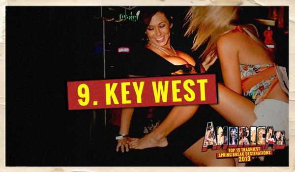 Maybe it's the fact that Key West is the southernmost inhabitable place in the lower 48 states or that it claims to have never had a frost, but this town parties constantly. During the high Spring Break season, open container laws are not enforced – this is coming from the Chief of Police.  Check out the full guide at http://wp.me/peIJr-2jf9