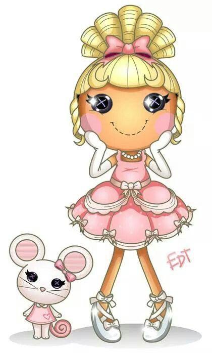 muñequita con ratoncito