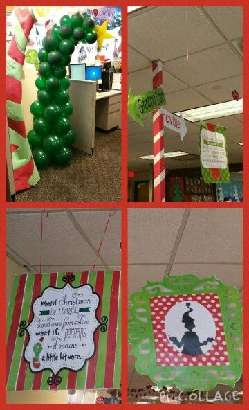 how the grinch stole christmas decorations ideas - The Grinch Themed Christmas Decorations