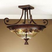 Tuscan Lamps & Lighting - Chandeliers, Ceiling Mount - BellaSoleil.com