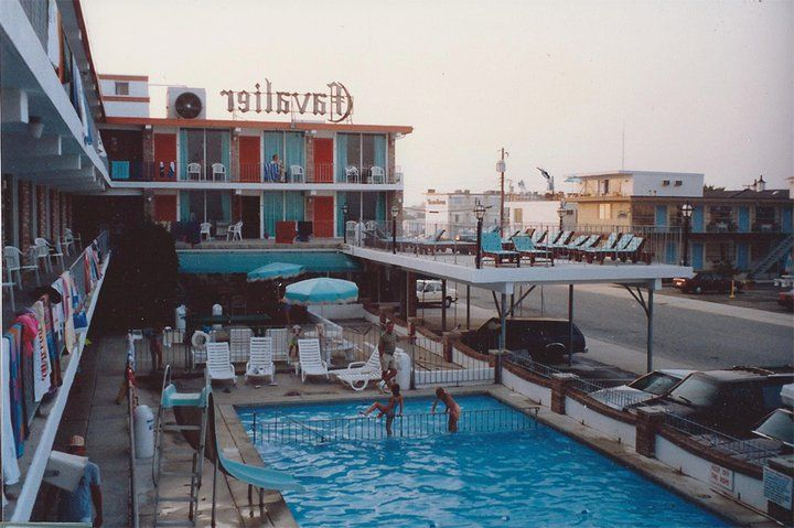 Cavalier Resort Motel 410 East Toledo Avenue Wildwood Crest Nj My Family Went Here Every Summer There Were Steps That Right Onto The Beach