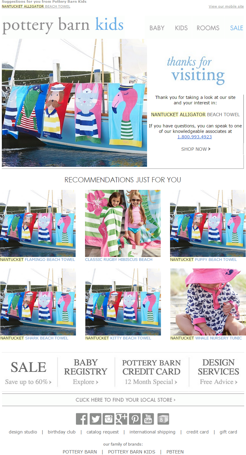 Pottery Barn Kids Abandon Browse. Be careful if you have