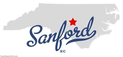 Sanford Nc Map Of Sanford North Carolina Nc Places I Ve Been