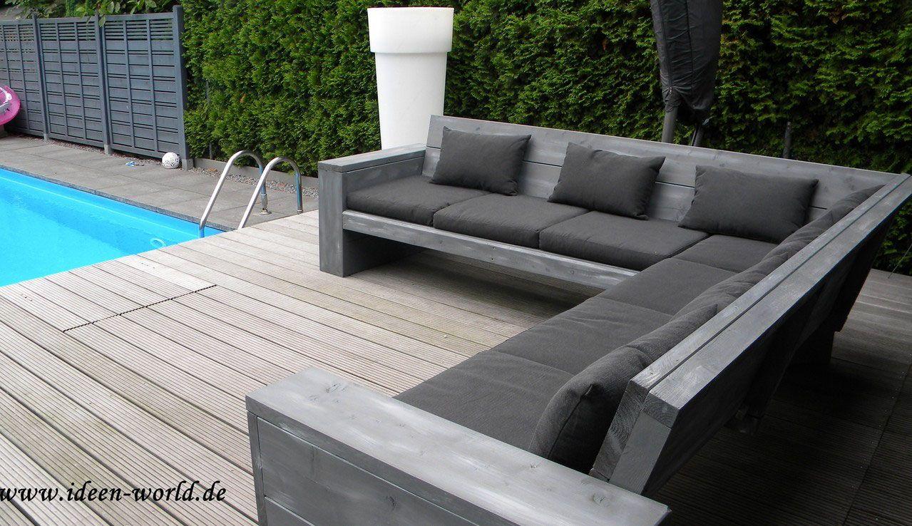 Garten Loungemöbel Deko Holz Möbel Unikate | Diy Und Selbermachen ... Mobel Deko Im Garten Selbermachen