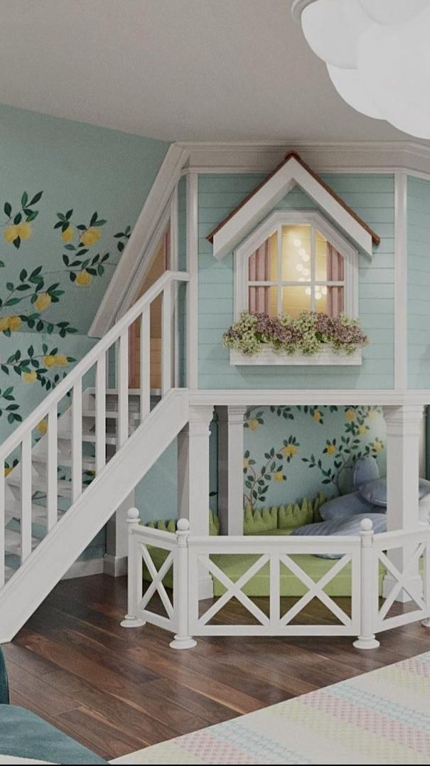 Beautiful Playhouse-inspired Room by Tarakanova Design