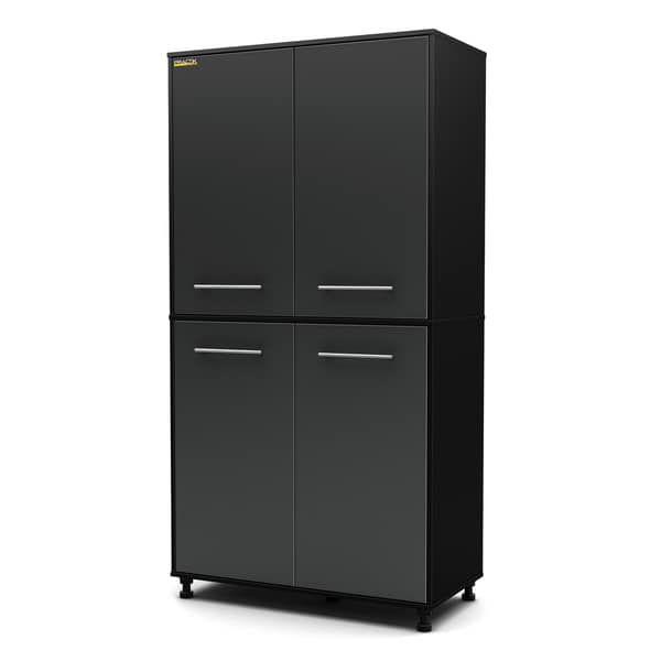 Unique Blue Hawk Wood Composite Garage Cabinet