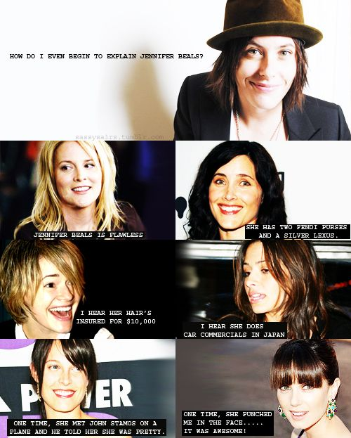 l Gay the actresses word on