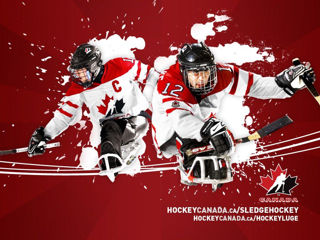 Sledge Hockey wallpaper Sledge hockey, Team canada