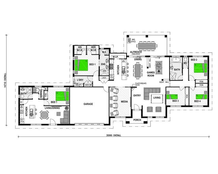 house with granny flat - Google Search | HOUSE PLANS | Pinterest ...