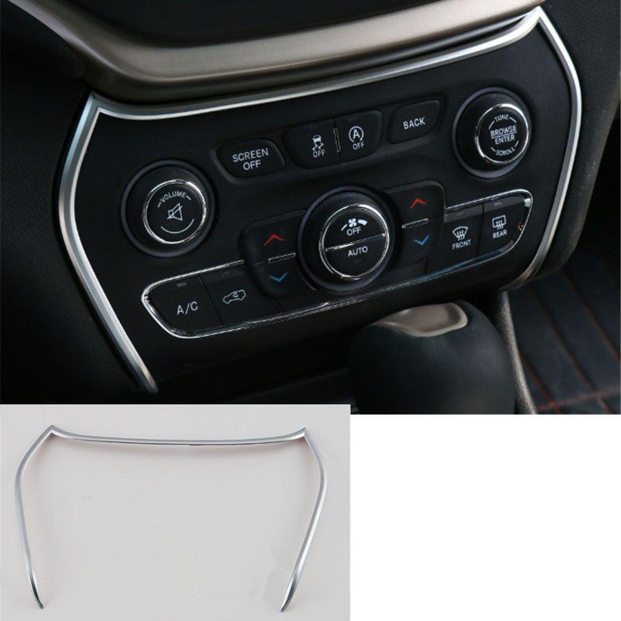 Yaquicka 1pcs Abs Interior Car Dashboard Air Condition Adjustment