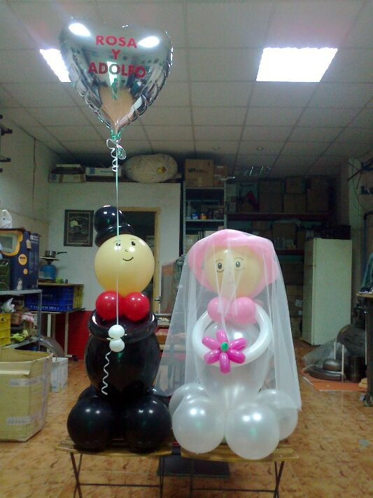 Decoracion con globos para matrimonio buscar con google for Decoracion con globos