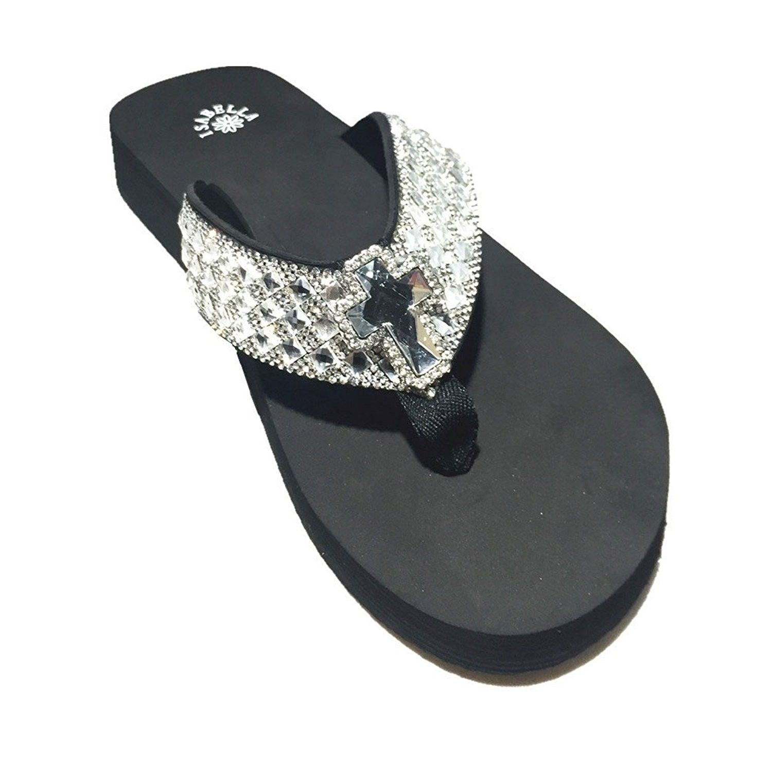 fb24bd58af Women's Shoes, Sandals, Flip-Flops, Premium Western Rhinestone Cross Concho  BlingBling Flip Flops in 4 Sizes S053 - CR183MQ4SEX #fashion #style  #womenshoes ...