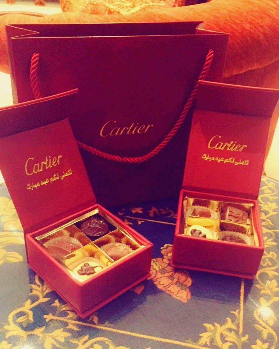 شكرا Cartier على العيدية الجميلة Cartier Caritier Present العيد Love Cartier Present