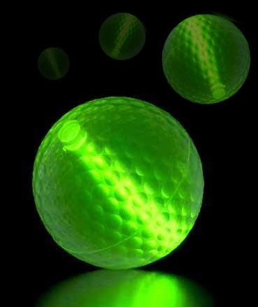 Glowing Golf Balls! http://glowproducts.com/noveltyglowproducts/nightgolfball/ #GlowGolfBalls