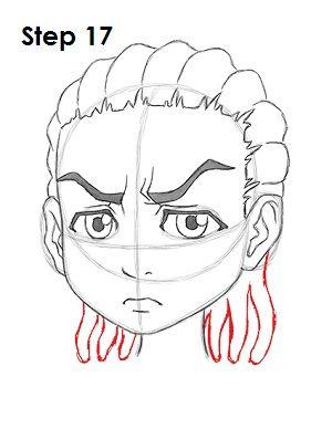 How To Draw Boondocks Style : boondocks, style, Riley, Freeman, Graffiti, Drawing,, Boondocks, Drawings,, Drawings