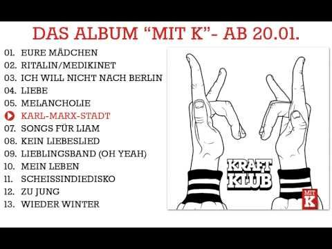 "Kraftklub - ""Mit K"" Albumsnippet - Album ab 20.01.2012"