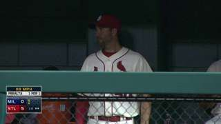 MIL@STL: Booth gives an update on Wainwright's injury... 09-26-15