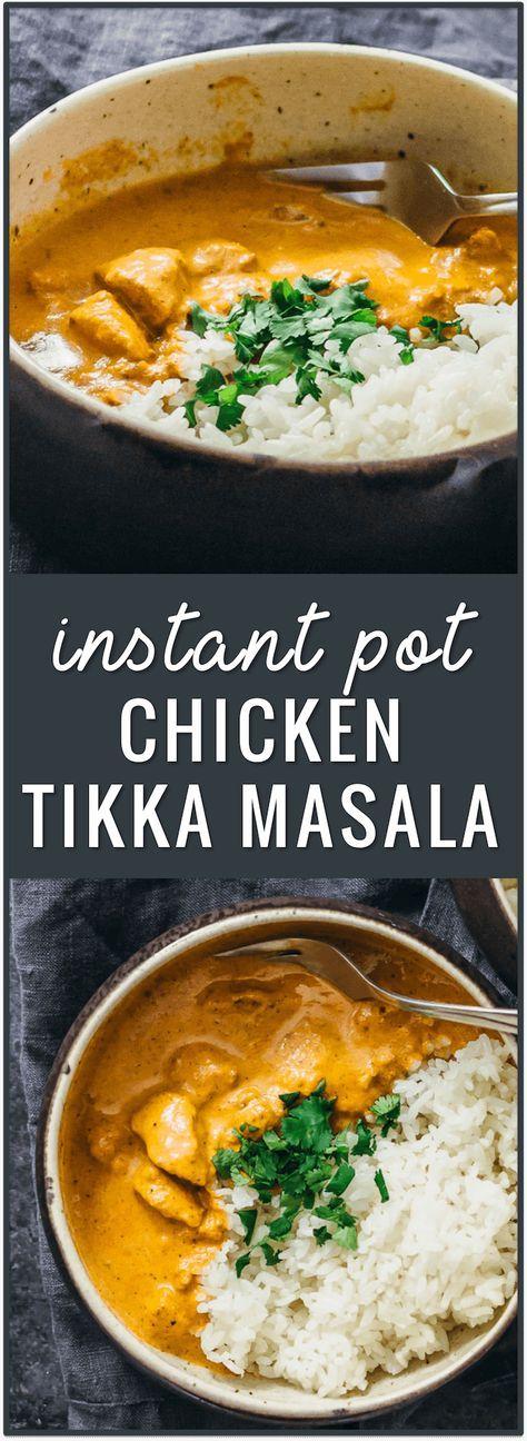 Instant pot chicken tikka masala recipe pressure cooker chicken instant pot chicken tikka masala recipe pressure cooker chicken curry dinner recipe indian food recipes easyindian forumfinder Choice Image