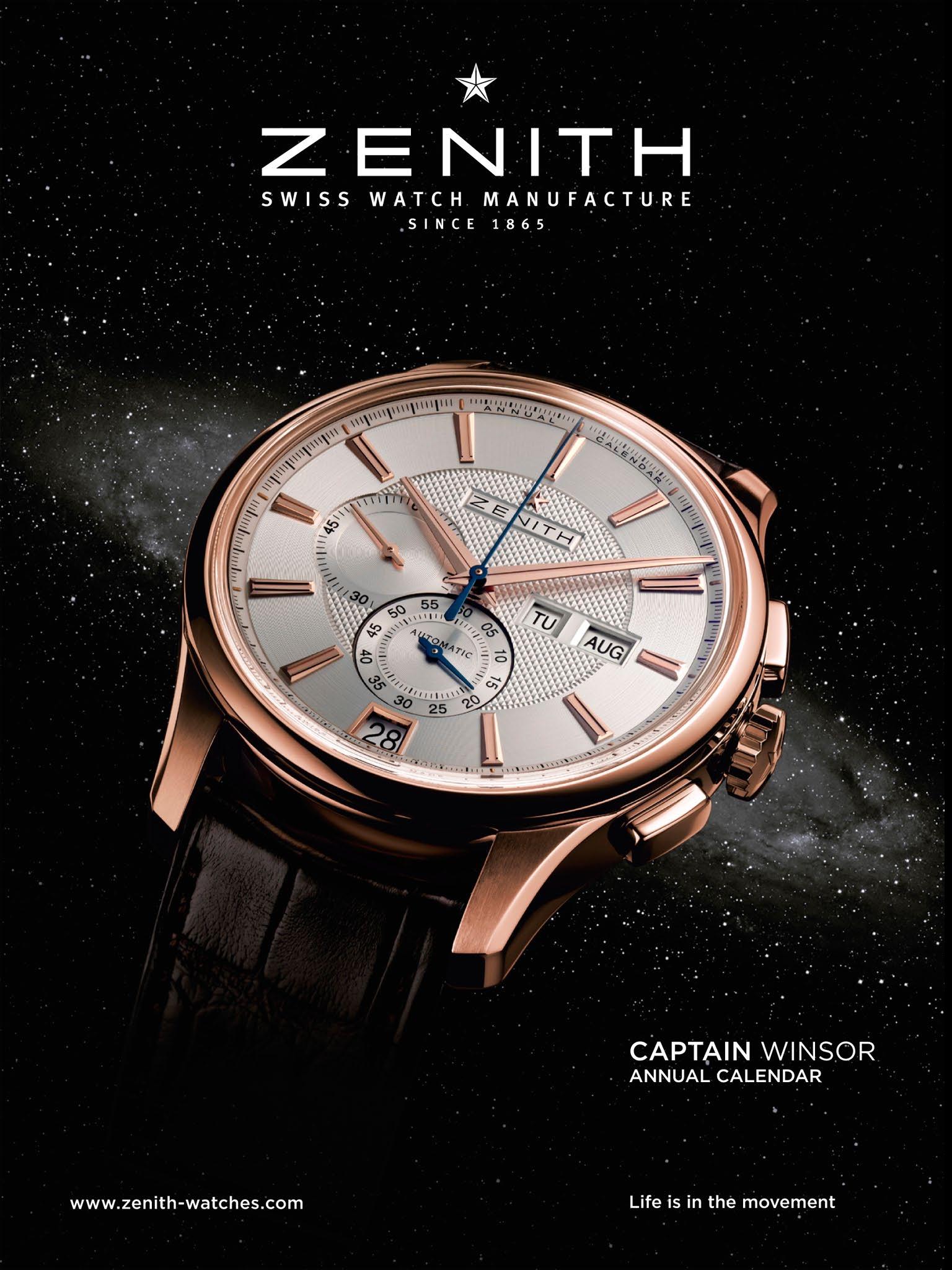 Advertisement - macro // Zenith timepiece | Macro- & Close ...