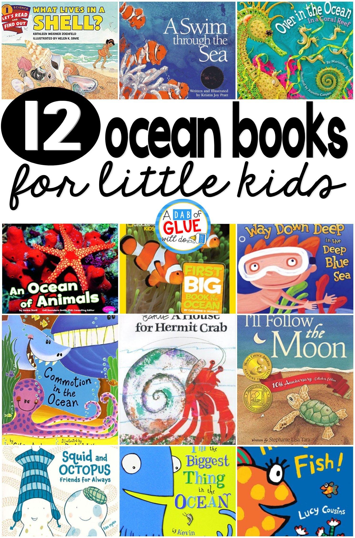 Top 12 Ocean Books Ocean Books Ocean Theme Preschool Preschool