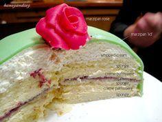 Princesstarta Swedish Princess Cake Honeyandsoy Food Adventures Swedish Princess Cake Princess Cake Swedish Recipes