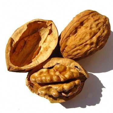 A 2015 study out of Yale suggests adding 2 ounces of walnuts to a daily diet for 6 months leads to l... - Photograph by Henning K. Vogelsang/Getty Images #walnutsnutrition
