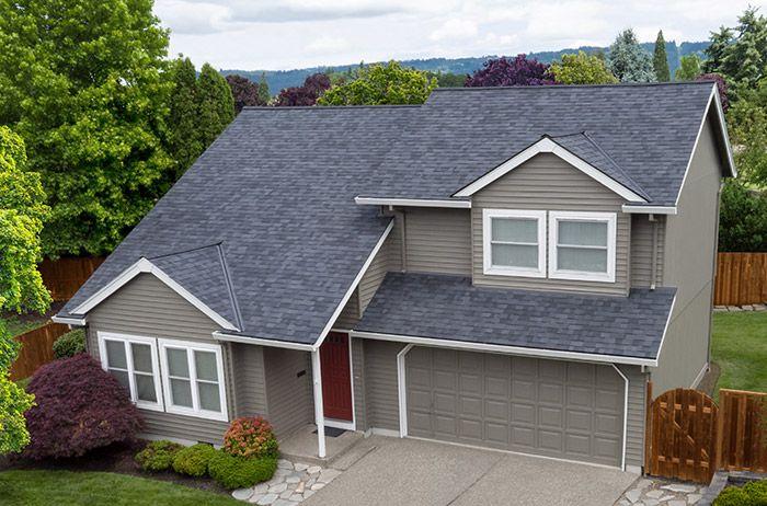Best Vista™ – Midnight Black House Exterior Roof Installation 400 x 300