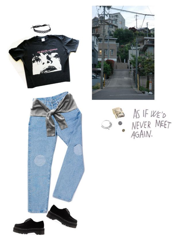 N.p by naimaec on Polyvore featuring polyvore, fashion, style, Dr. Martens and clothing