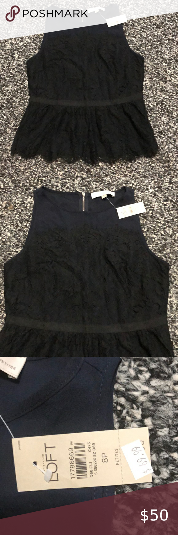 Loft Preplum Top Womens Knit Tops Lace Sleeveless Top Boho Printed Tops [ 1740 x 580 Pixel ]