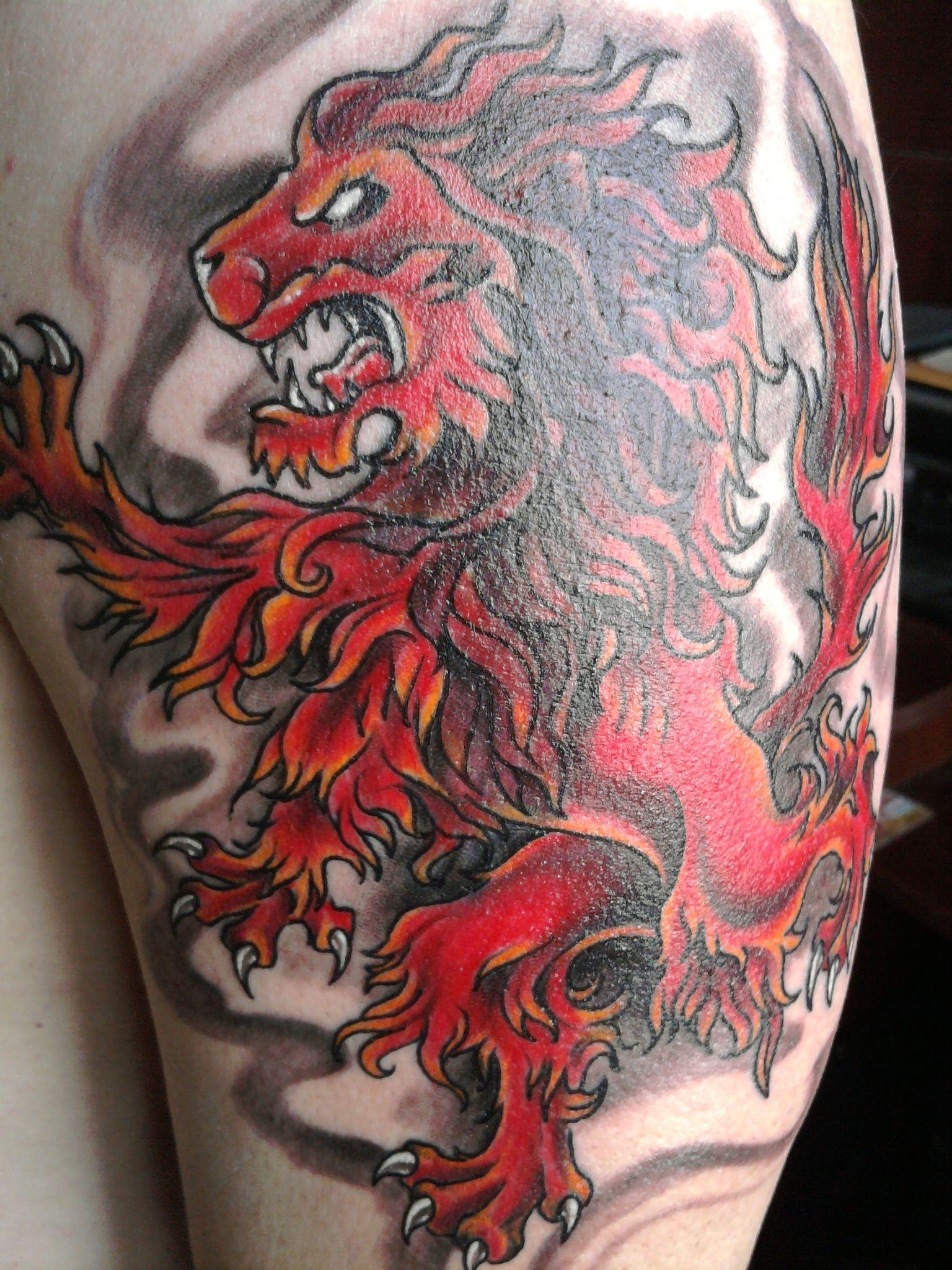 72a09035e My ink. The Scottish lion rampant | Scotland | Pinterest | Tattoo ...
