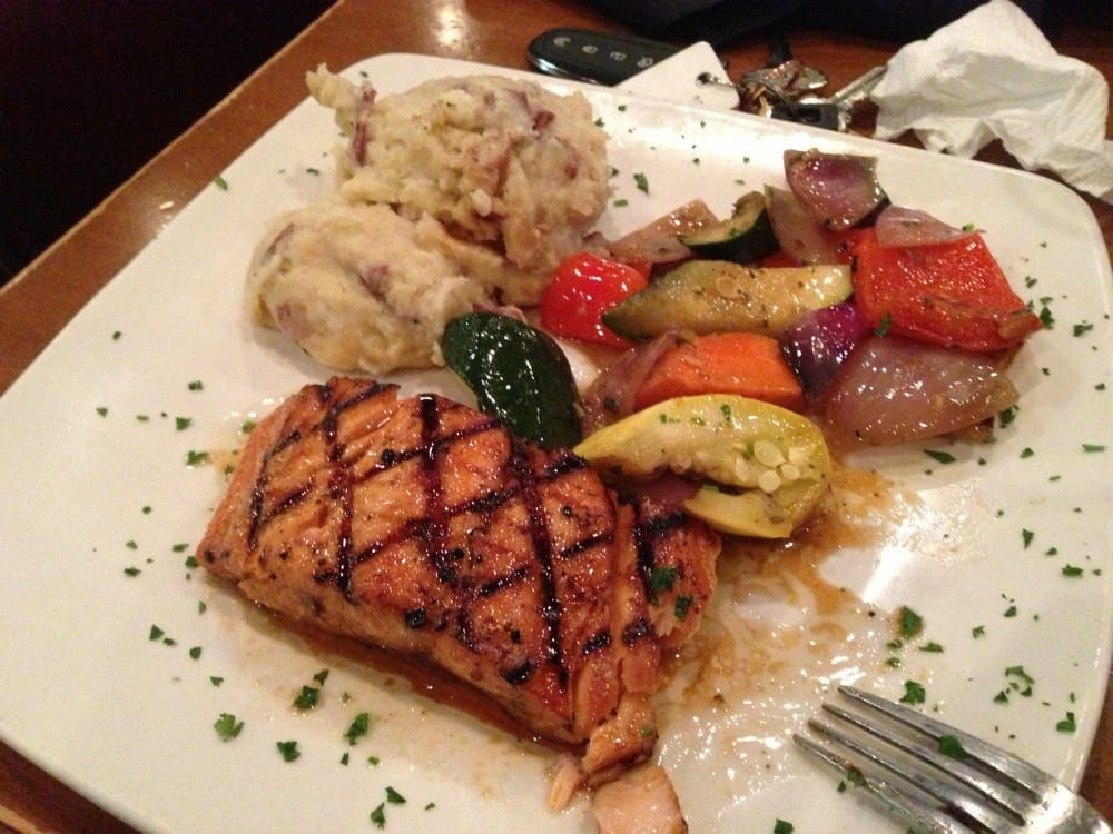 Champps Americana Bourbon Salmon (With images