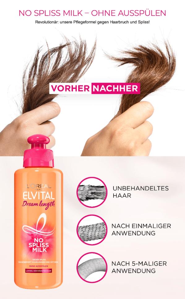 Elvital Dream Length Von L Oreal Paris Lange Haare Optimal Pflegen Anti Frizz Hair Loreal Hair Loreal