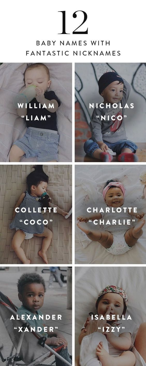 12 Baby Names With Fantastic Nicknames