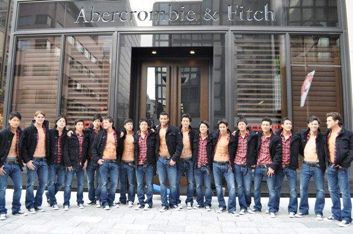 Abercrombie and Fitch... I do love my job!!