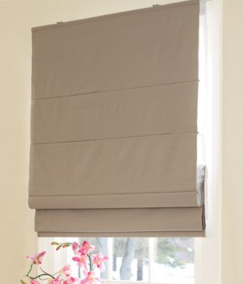 Country Curtains - Thermal Cordless Roman Shade Linen