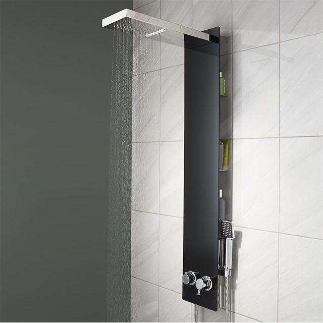 colonne de douche cooke lewis urilia salle de bain. Black Bedroom Furniture Sets. Home Design Ideas