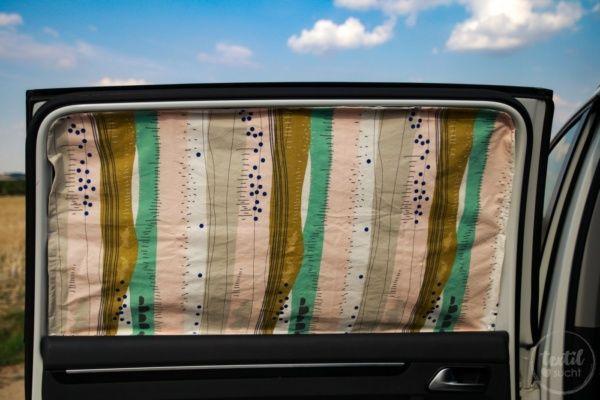Nähanleitung Sonnenschutz für's Auto nähen