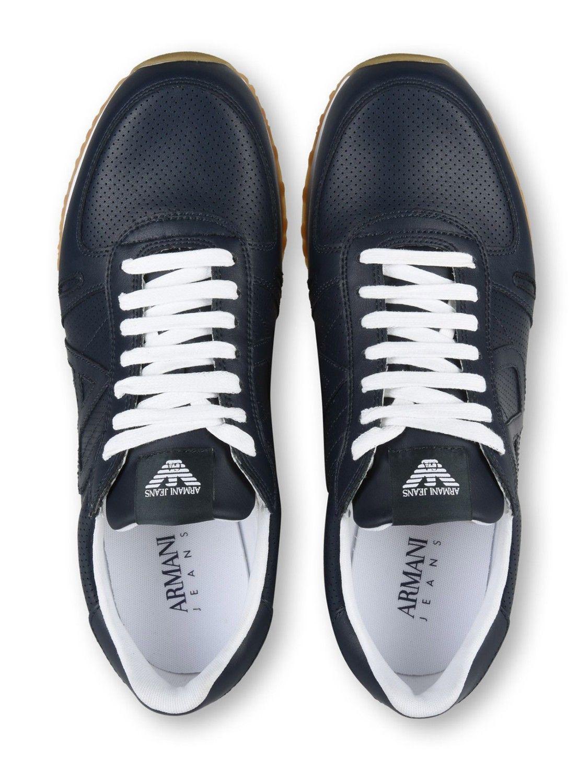 2cd9266c5cb67 Zapatillas Armani Jeans ® Azul Marino