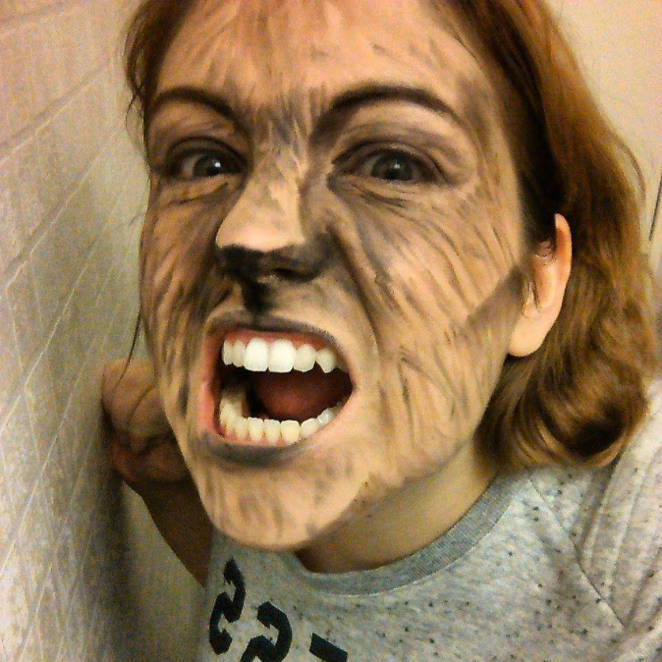Etre Radieuse Maquillage Halloween Loup Garou Hallown