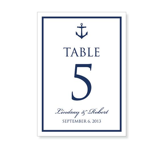 Table Number Template Printable - INSTANT DOWNLOAD - For Word and - Download Numbers Spreadsheet For Mac