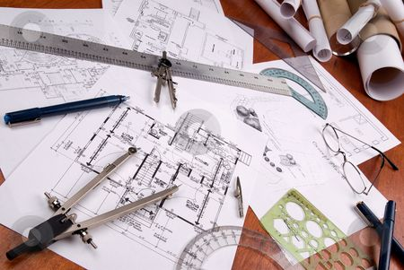 Architect Tools And Floor Plan Architect Tools Architecture Design Drawing Architecture Tools