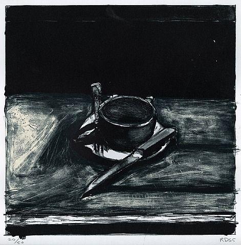 "Richard Diebenkorn ""Cup, Saucer, Fork, and Knife"". 1965"