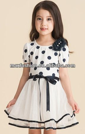 3819f34a162 2014 Kid Dress For 1-6 Year-old Baby Girls Party Wear Puffy Dresses  5~ 9