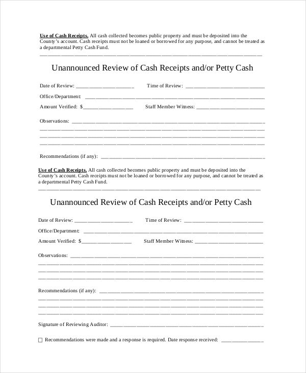 Cash Receipt Template Pdf Entrancing Review Cash Receipt Template Free  Cash Receipt Template To Use And .