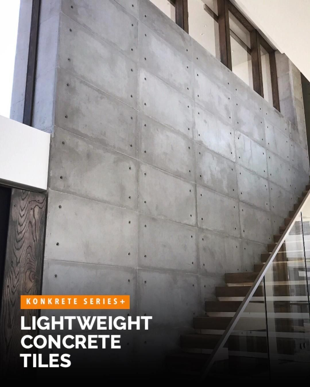Lightweight Concrete Wall Tiles Konkrete4 By Float 1000 In 2020 Concrete Wall Exterior Wall Panels Modern House Exterior