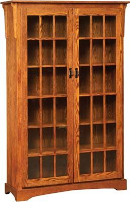 Would Love To Build This Mission Style Piece And Also Have It In My Home The Doors Just Change Whole Dynamic Of Bookcase