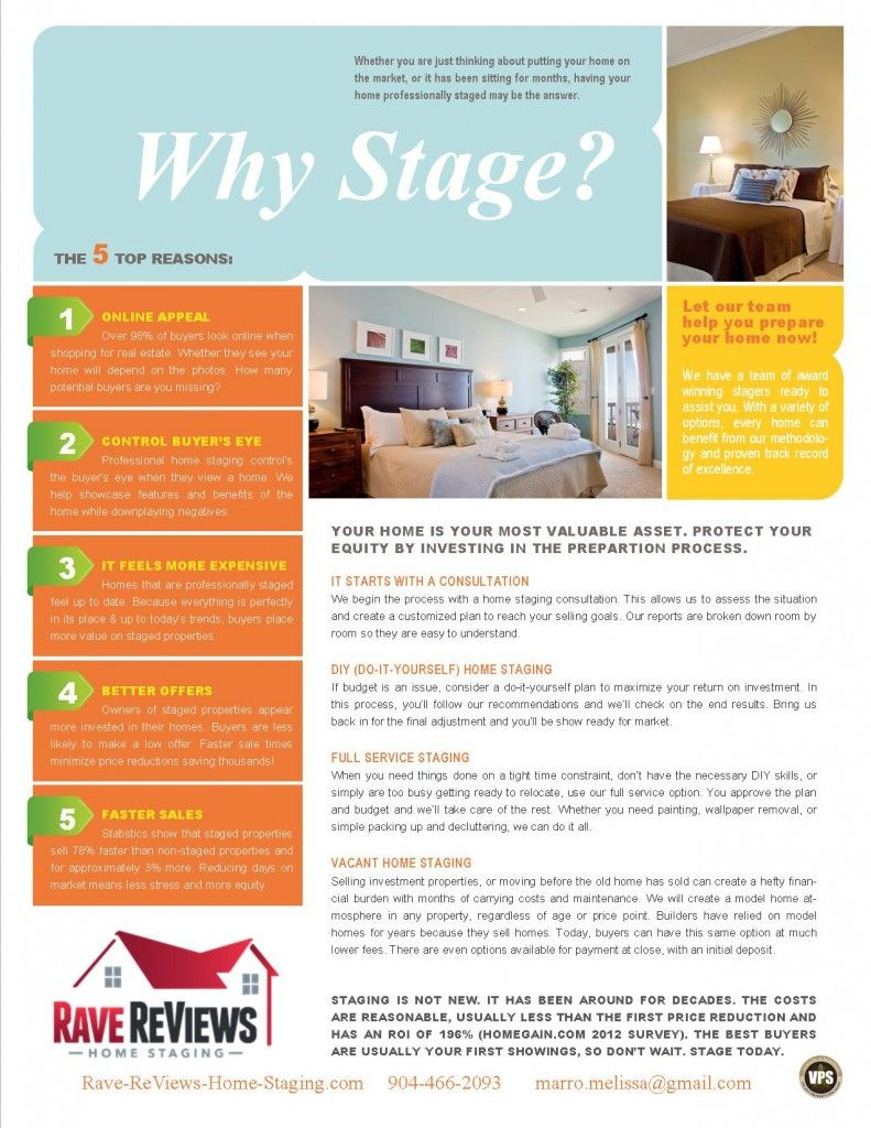 Why Should You Have Your Home Professionally Staged Home Staging